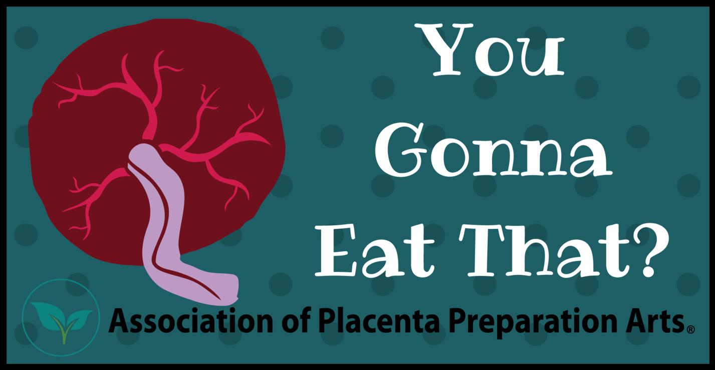 Placenta Bumper Sticker