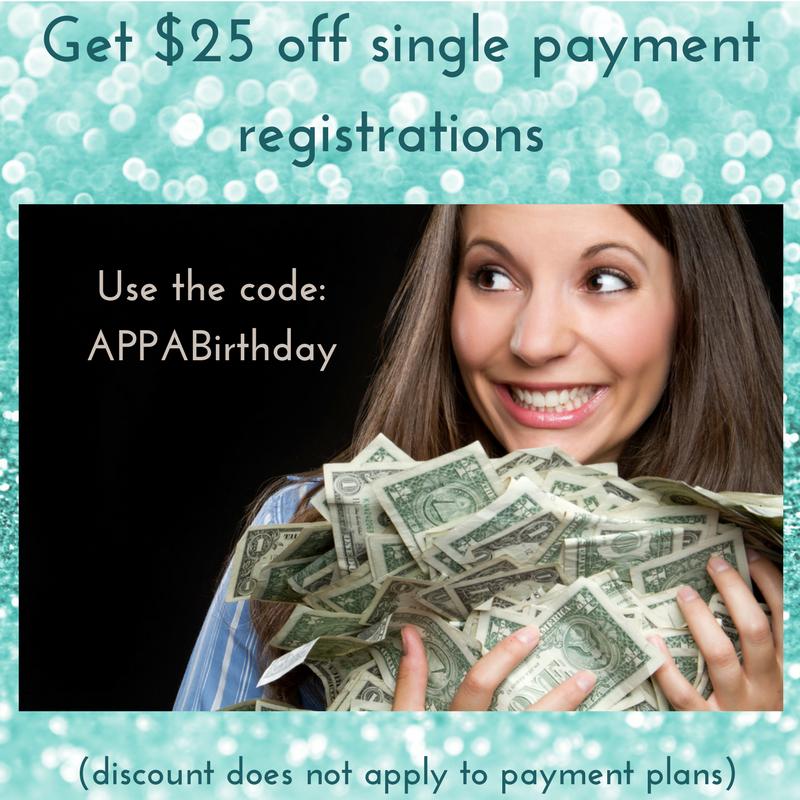 APPA discount