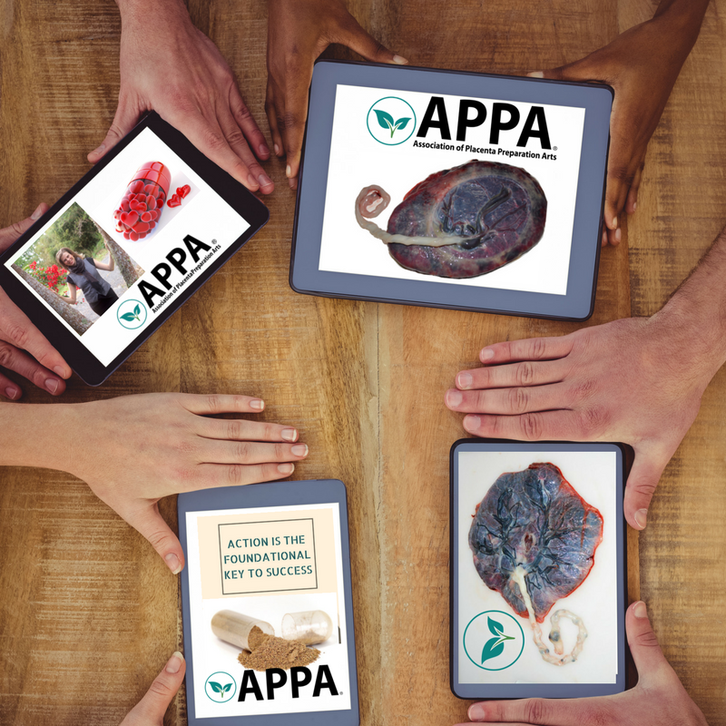 APPA Placenta Training Celebrates 3rd Birthday!