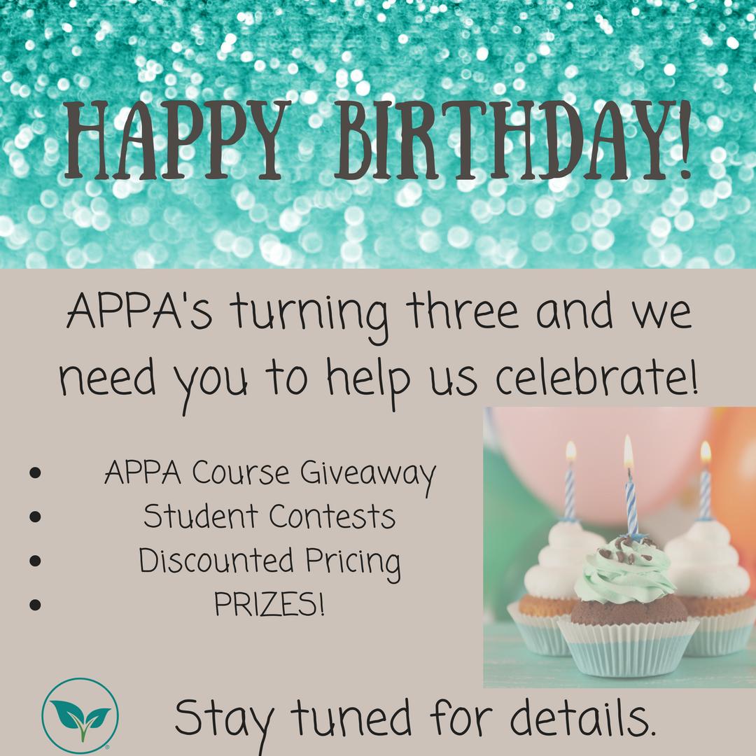 APPA Birthday